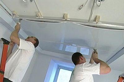 Цены на монтаж натяжных потолков в Одессе